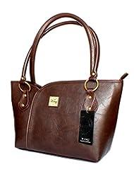 Designer Branded Faux Leather Ladies Handbag Shoulder Bag - B00NLD4DZQ