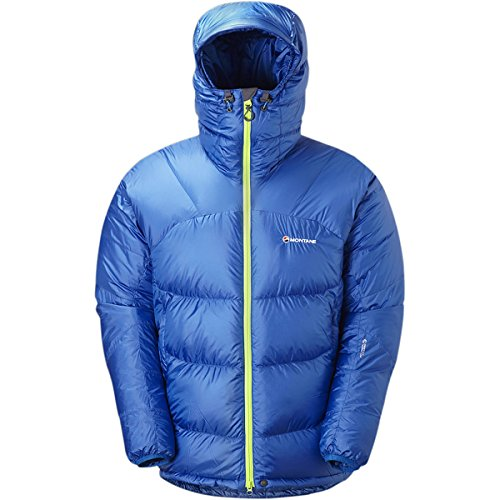 Montane Chonos Ultra Down Jacket - Men'S Electric Blue Medium