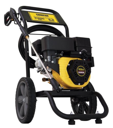 Champion Power Equipment 75502 2,400 PSI 2.2 GPM 163cc 4-Stroke Gas Powered Pressure Washer