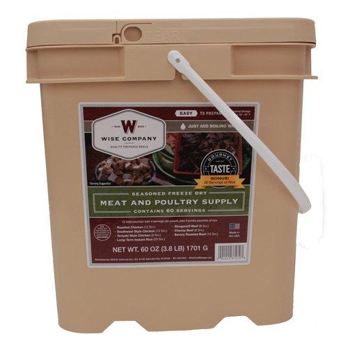 Wise 60 Serving Protein Grab & Go Bucket
