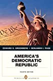 img - for America's Democratic Republic (4th Edition) (Penguin Academics) book / textbook / text book