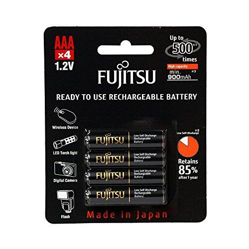 Fujitsu AAA NiMH rechargeables pré-chargées 900 mAh batterie de-HR - 4UTHCEX, Paragraphe 4, point b)