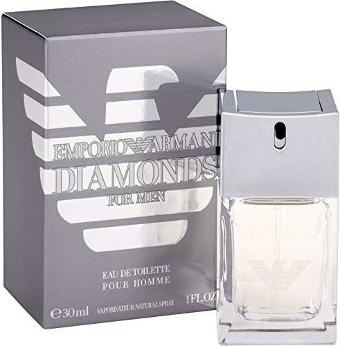 Giorgio Armani Diamonds for Men Eau de Toilette, Uomo, 30 ml
