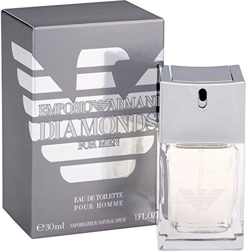 Giorgio Armani Diamonds for Men Eau de Toilette, Uomo, 30 ml