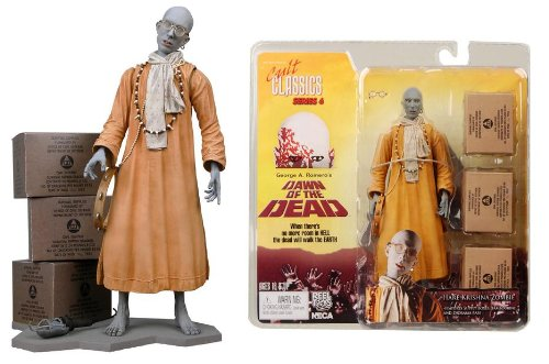 Dawn of the Dead Hare Krishna Zombie Action Figure Cult Classics 6