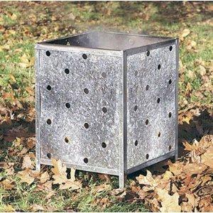 Flatpack Garden Incinerator by Parasene