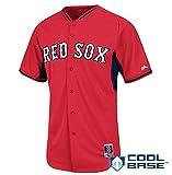 ボストン・レッドソックス Boston Red Sox Youth Cool Base Batting Practice Jersey ユニフォーム サイズ L MLB公認 マジェステイック Majestic  メジャーリーグ ジャージ【並行輸入品】Boston cool