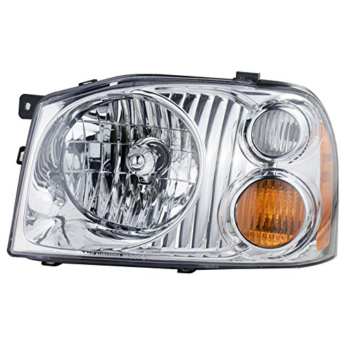 CarPartsDepot Front Bumper Head Light Lamp Left Side 01-04 For Nissan Frontier XE NI2502130 (2003 Nissan Frontier Xe compare prices)