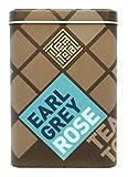 Tea total (ティートータル) / アールグレイ ローズ 20包入り缶 ニュージーランド産 (紅茶 フレーバーティー)【並行輸入品】