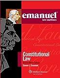 Emanuel Law Outlines: Constitutional Law, 2011 Edition (0735508127) by Steven L. Emanuel