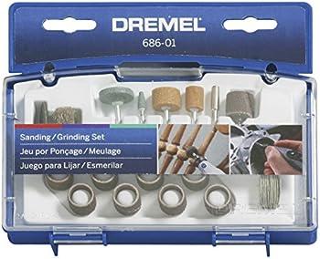 31 pc. Dremel Sanding/Grinding Mini Accessory Kit