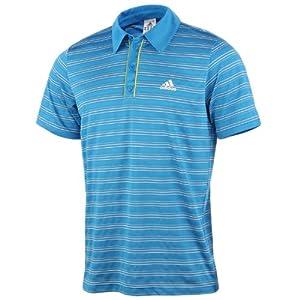 Buy Adidas Mens Seasonal Tennis Polo Shirt Top - Blue by adidas