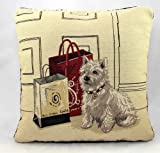 "Scottie Dog Vintage Tapestry Cushion Covers 18"" x 18"""