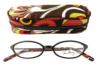 Vera Bradley Nicole Puccini Reading Glasses w/ Matching Case in 0.50