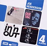 Joe Henderson Boxed Set 4CD Page One/Our Thing/In'n'Out/Made for Joe