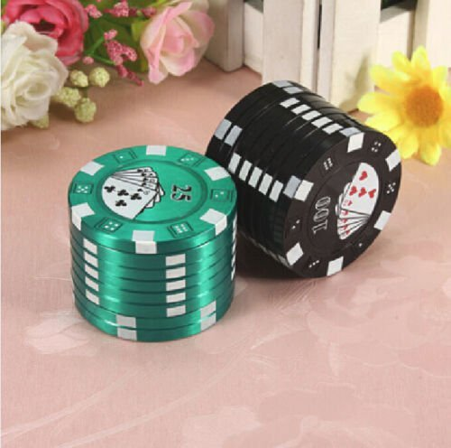 Metal Herbal Herb Tobacco Smoke Grinder Chip Shaped Hand Muller Crusher Grind (Smoke Smart Electronic Cigarette compare prices)