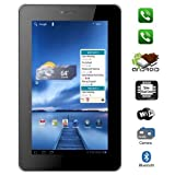 "VOX 7"" Dual Sim Calling Slim Tablet V102 Android 4.0 With Bluetooth, Tv, Fm, 3G, Capacitive Touch"