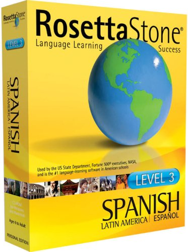 Rosetta Stone V2: Spanish (Latin America) Level 3 [Old Version]