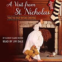 A Visit from St. Nicholas: 'Twas the Night Before Christmas (       UNABRIDGED) by Clement Moore Narrated by Jim Dale