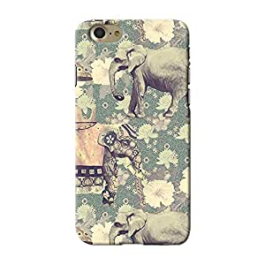 ArtzFolio Indian Elephants : Apple iPhone 7 Matte Polycarbonate ORIGINAL BRANDED Mobile Cell Phone Protective BACK CASE COVER Protector : BEST DESIGNER Hard Shockproof Scratch-Proof Accessories : Animals, Traditional