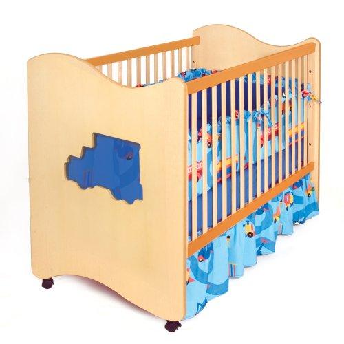 Truck Crib Bedding 122 front