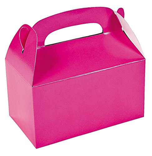 Dozen Hot Pink Treat Boxes (Pink Gift Boxes compare prices)