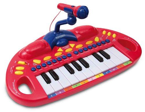 MK1830R - Bontempi Eletronic Keyboard mit Mikrofon