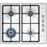 Bosch Ltd PBH615B90E 600mm Gas Hob 4 x Burners WOK Burner Brushed Steel