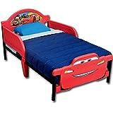 Kinderbett-Babybett-Jugendbett-3D-mit-Motivauswahl-Cars
