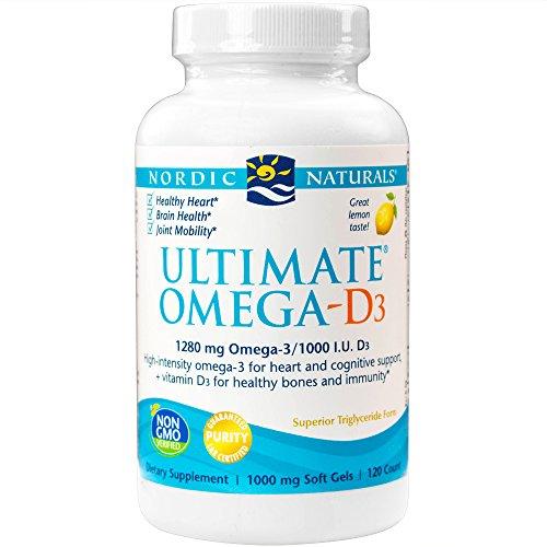 Nordic Naturals Ultimate Omega-D3? -- 120 Softgels