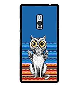 ifasho Designer Phone Back Case Cover OnePlus 2 :: OnePlus Two :: One Plus 2 ( Blue White Colorful Pattern Design )