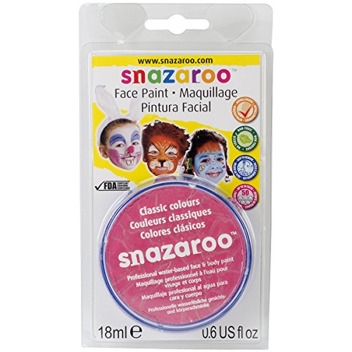Reeves Snazaroo Face Paint, 18ml, Bright Pink