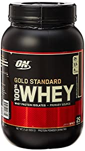 Optimum Nutrition Gold Standard 100% Whey Double Rich Chocolate Protein Powder 908g