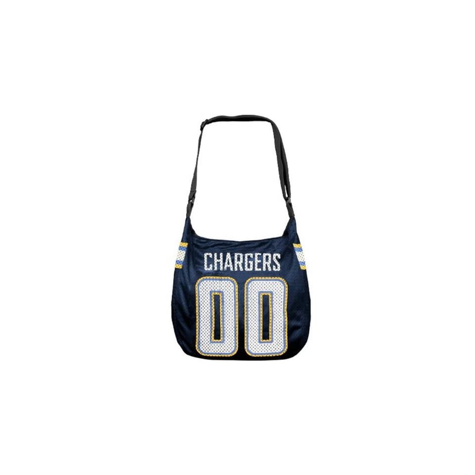 SAN DIEGO CHARGERS NFL MVP VETERAN JERSEY TOTE BAG PURSE