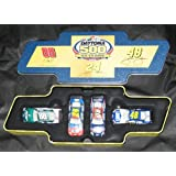 Nascar Winners Circle Daytona 500 50 Years Commemorative Four Car Set