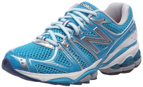 New Balance Women's Blue/Silver Trainer WR1080BL 4.5 UK, 6.5 US B
