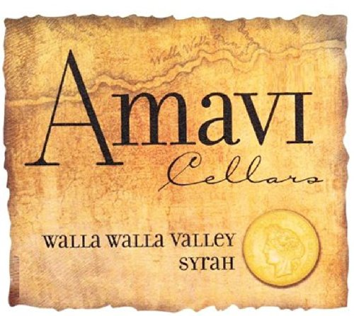 2012 Amavi Cellars Walla Walla Valley Syrah 750 Ml