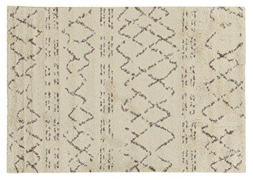 Viva Berber Tappeto, Materiale Sintetico, Crema, 133x190x2.53 cm