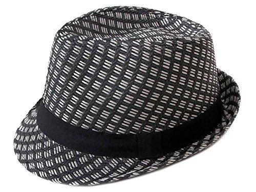 Simplicity® Fedora Bucket Fashion Cap Summer Floral Vintage Hats, 738_Black Small/Medium