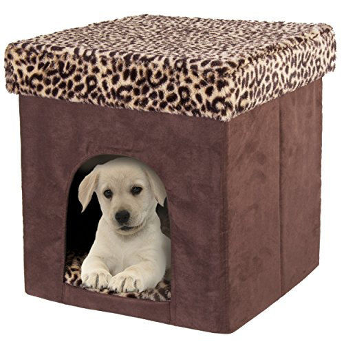 Pet Zone Foldable Indoor Pet House Play Cube Bed Hide Away
