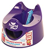 Pourty Easy-to-Pour Potty (Purple)