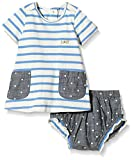 Lilly and Sid Sailor Stripe Dress And Frill Chambray Pants Set-Conjunto Bebé-Niños    Multicolor multicolor 24 meses