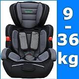 Kinderautositz Farbe Grau Gruppe I/II/II 9-36kg ab 9 Monate bis ca. 11 Jahre EU-Norm ECE R44-04