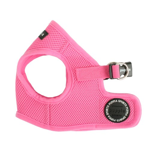 Puppia Vest Dog Harness Pink Medium