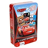 Cardinal Industries Disney Cars 2 Card Game Tin