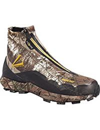 "Rocky Men's 6"" Realtree Broadhead Hidden Laces W'Proof Zipper Shoe-RO009"