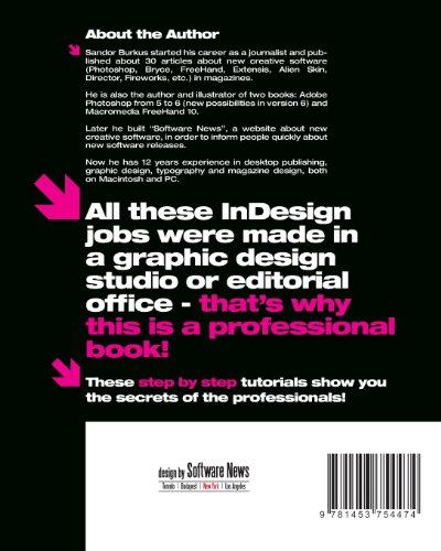 InDesign CS5 Book 1, Professional: Quick Start Guide: Volume 4