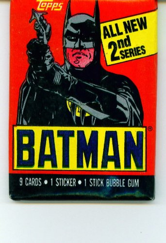 Batman 2nd Series Trading Card Pack - 1