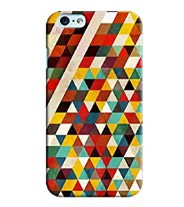 Clarks Triangle Pattern Hard Plastic Printed Back Cover Case For Apple iPhone 6