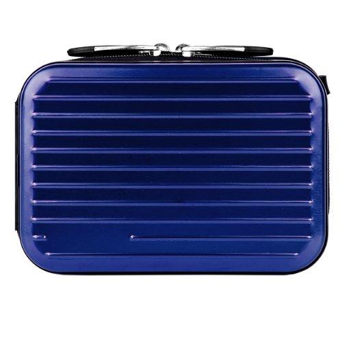Magic Blue Pascal Edition Metallic Camera Case for Samsung DV300F / MV800 / ST93 / ST90 / ST65 / ST30 / ST95 / ST700 / PL170 / PL210 / PL120 / SH100 / WB700 / PL200 / TL350 / WB2000 / AQ100 / WP10 / TL210 / PL150 / TL205 / PL100 / ST80 / ST100 / TL225 / S